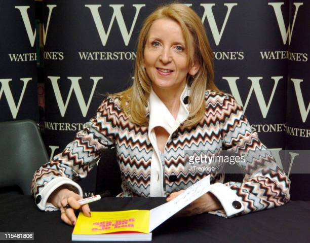 Dr Gillian McKeith during Dr Gillian McKeith Signs Her Book 'You Are What You Eat' at Waterstone's March 24 2005 at Waterstone's in London Great...