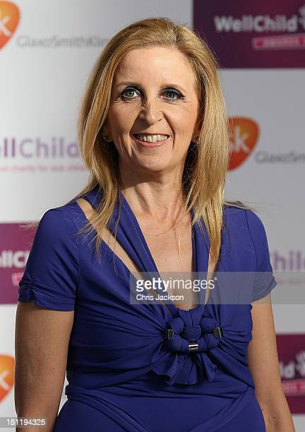 Dr Gillian McKeitharrives at the WellChild Awards at the InterContinental Park Lane Hotel on September 3 2012 in London England