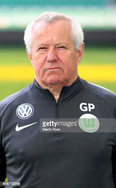 Dr Günter Pfeiler of VfL Wolfsburg poses during the team presentation at on September 13 2017 in Wolfsburg Germany