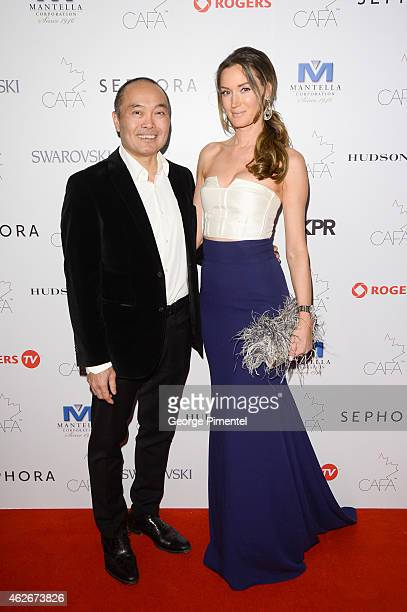 Dr Gordon Cheung and Lori Siddons attends the 2nd Annual Canadian Arts And Fashion Awards held at the Fairmont Royal York Hotel on January 31 2015 in...