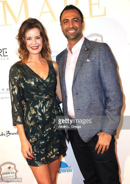 Dr Gravori and guest attend the Amare's Second Year Anniversary 'Believe Issue' Party held at Sofitel Los Angeles At Beverly Hills on December 13...