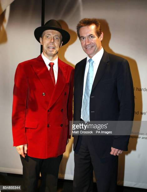Dr Gunther von Hagens, left, and Dr Hilary Jones at von Hagens latest exhibition, Body Worlds And The Mirror of Time, at The O2 Arena, Greenwich,...