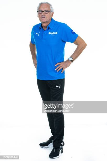 Dr HansJoachim Kerger poses during the 1 FFC Frankfurt Women's team presentation on September 7 2018 in Frankfurt am Main Germany