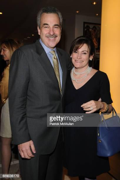 Dr Harold Koplewicz and Lisa Pevaroff Cohn attend NYU Child Study Center Spring Fashion Benefit at Bloomingdale's at Bloomingdale's on April 15 2009...