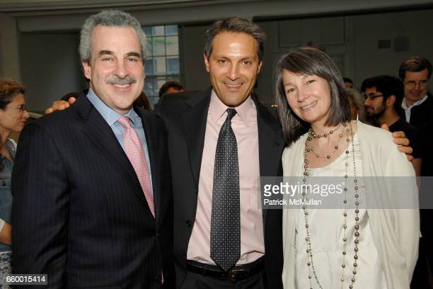 Dr Harold Koplewicz Ari Emanuel and Brooke Garber Neidich attend NYU Child Study Center ADAM JEFFREY KATZ Memorial Lecture at Friends Seminary on May...