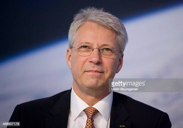 Dr hc Thomas Reiter ESADirector of Human Spaceflight and Mission Operations during the press conference of the German Center for Aerospace in...