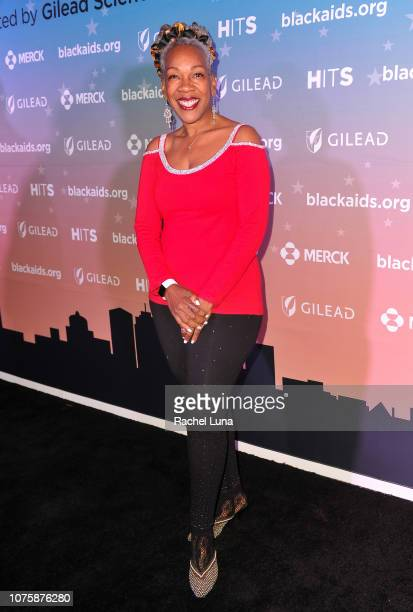 Dr Helen Holton attends the Black AIDS Institute's 2018 Heroes in The Struggle Gala at California African American Museum on December 01 2018 in Los...