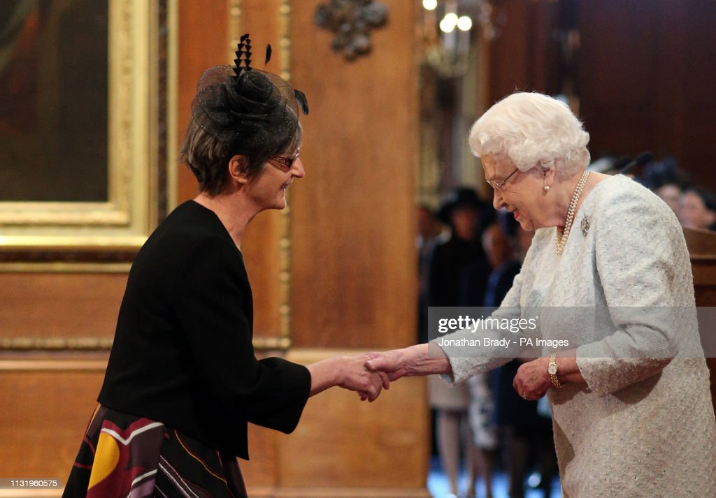 Investiture at Windsor Castle : News Photo