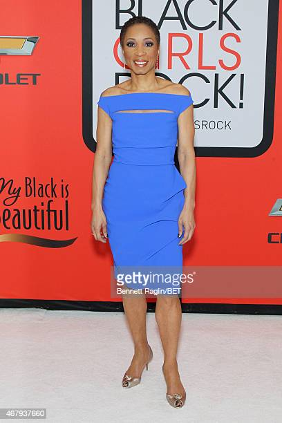 Dr Helene Gayle attends the BET's Black Girls Rock Red Carpet sponsored by Chevrolet at NJPAC – Prudential Hall on March 28 2015 in Newark New Jersey