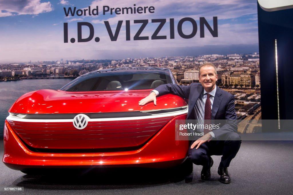 88th Geneva International Motor Show Press Days : News Photo