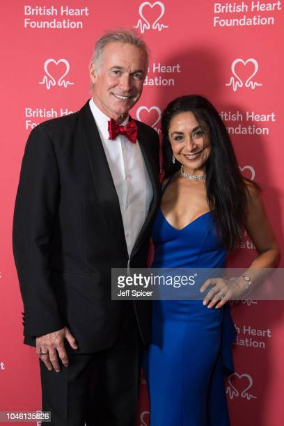 Dr Hilary Jones and Dee Thresher attend the British Heart Foundation's 'Heart Hero' awards at Underglobe on October 5 2018 in London England