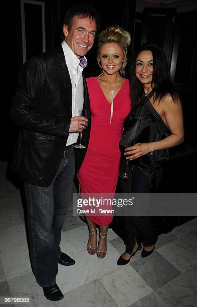 Dr Hilary Jones and Emily Atack attend the Candy Candy party to launch the new extension of Home House on February 17 2010 in London England