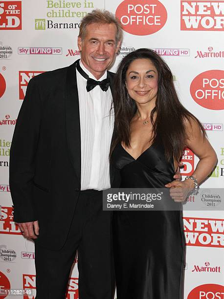Dr Hilary Jones and friend attend the News Of The World Children's Champion Awards at The Grosvenor House Hotel on March 30, 2011 in London, England.