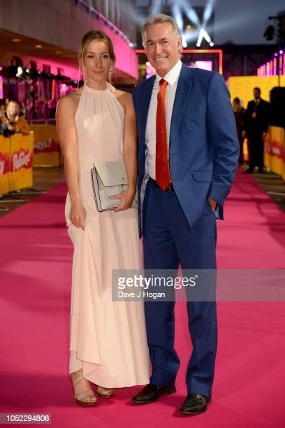 Dr Hilary Jones and guest attend the ITV Palooza held at The Royal Festival Hall on October 16 2018 in London England