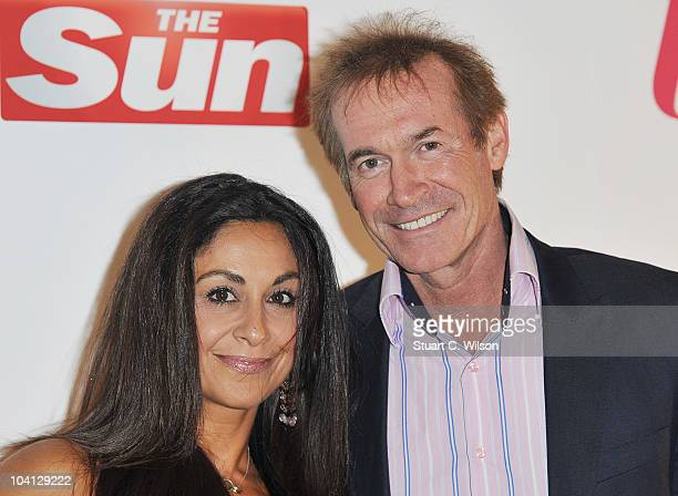 Dr Hilary Jones and guest attend The Sun's new magazine 'Buzz' launch at Il Bottacio on September 15, 2010 in London, England.