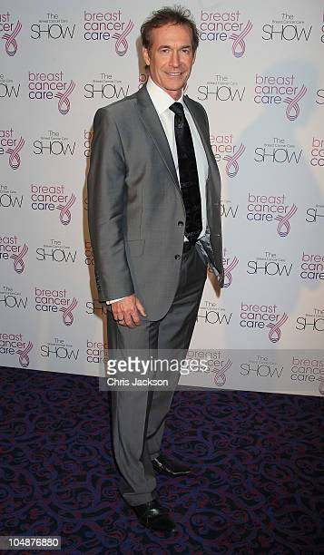 Dr Hilary Jones arrives at the Breast Cancer Care Fashion Show at the Dorchester on October 6 2010 in London England All 24 models in the show have...