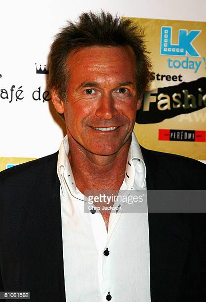 Dr Hilary Jones arrives at the Perfume Shop LK Today High Street Fashion Awards at Cafe De Paris on May 12, 2008 in London, England.