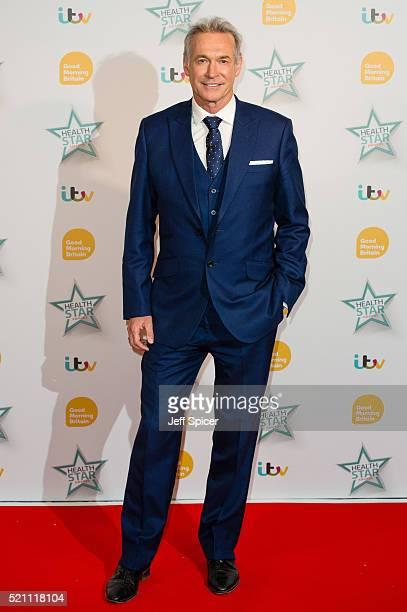 Dr Hilary Jones arrives for Good Morning Britain's Health Star Awards at Hilton Park Lane on April 14 2016 in London England
