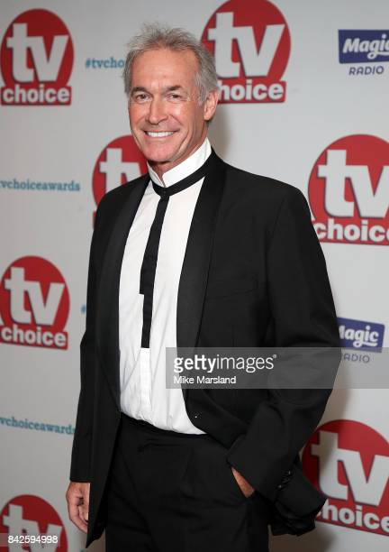 Dr Hilary Jones arrives for the TV Choice Awards at The Dorchester on September 4 2017 in London England