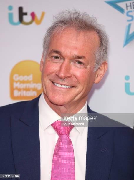 Dr Hilary Jones attend the Good Morning Britain Health Star Awards on April 24, 2017 in London, United Kingdom.