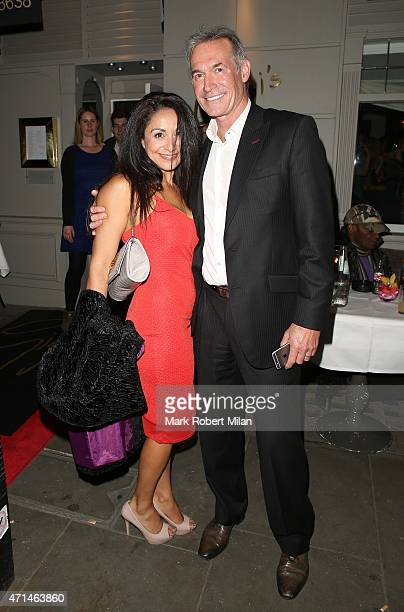 Dr Hilary Jones attending the Hot Gossip launch party at Gigi's on April 28 2015 in London England