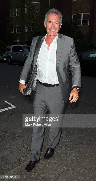 Dr Hilary Jones attending the ITV Summer Reception on July 17 2013 in London England