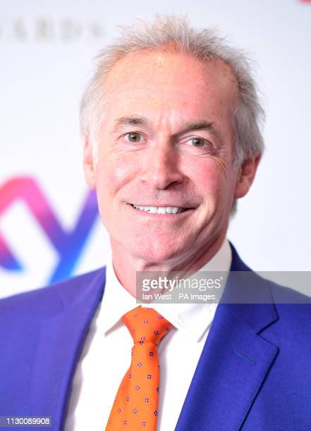 Dr Hilary Jones attending the TRIC Awards 2019 50th Birthday Celebration held at the Grosvenor House Hotel, London.