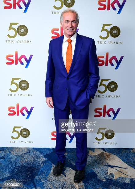 Dr Hilary Jones attending the TRIC Awards 2019 50th Birthday Celebration held at the Grosvenor House Hotel London