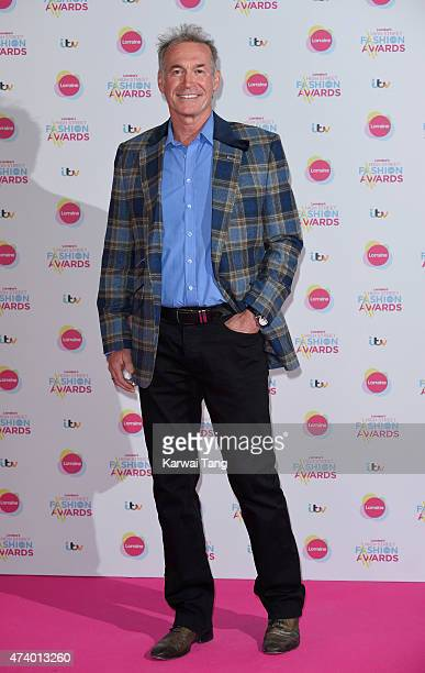 Dr Hilary Jones attends Lorraine's High Street Fashion Awards at Grand Connaught Rooms on May 19, 2015 in London, England.