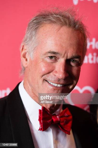 Dr Hilary Jones attends the British Heart Foundation's 'Heart Hero' awards at Underglobe on October 5 2018 in London England