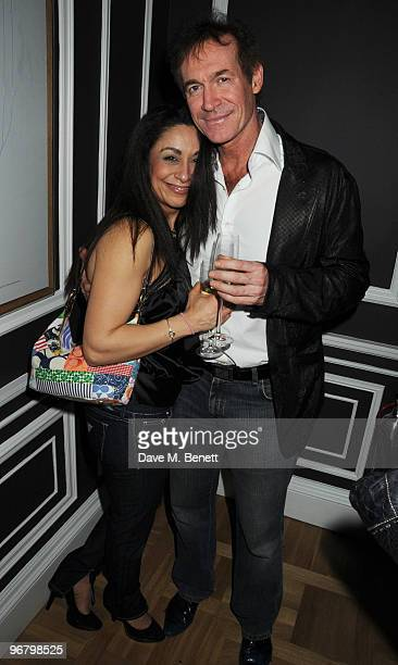 Dr Hilary Jones attends the Candy Candy party to launch the new extension of Home House on February 17 2010 in London England