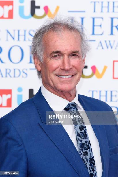 Dr Hilary Jones attends the 'NHS Heroes Awards' held at the Hilton Park Lane on May 14, 2018 in London, England.