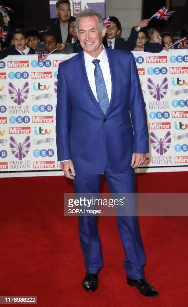 Dr Hilary Jones on the red carpet at The Daily Mirror Pride of Britain Awards in partnership with TSB at the Grosvenor House Hotel Park Lane