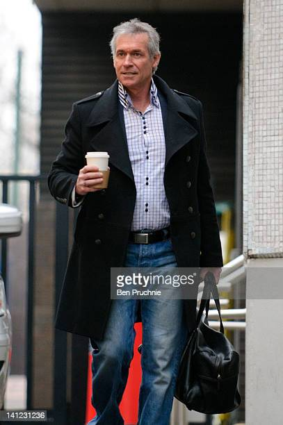 Dr Hilary Jones sighted departing ITV Studios on March 13, 2012 in London, England.