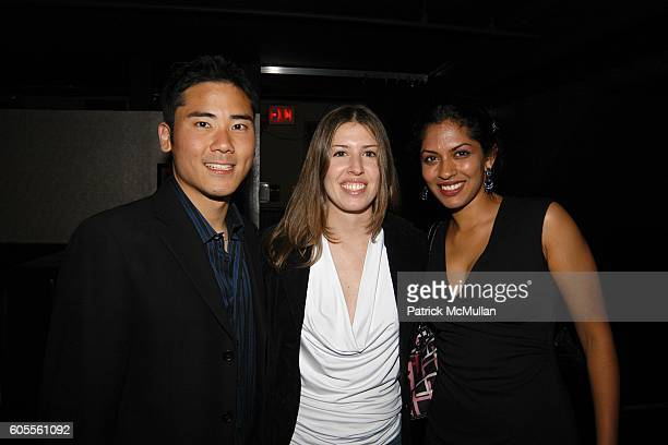 Dr Howard Jung Jocelyn Lee and Dr Anoushka Afonso attend LISA EDELSTEIN and ROSARIO DAWSON Birthday Party at The Plumm on May 18 2006 in New York City