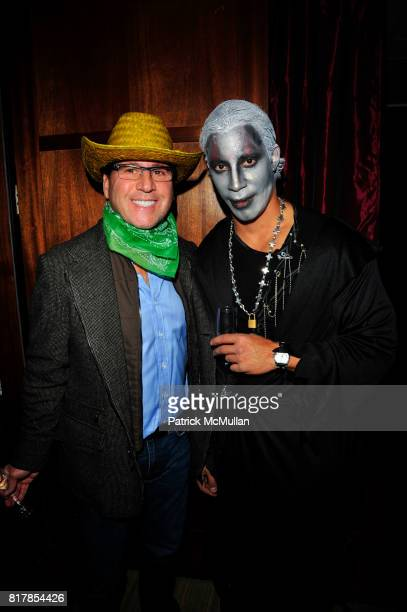 Dr Howard Sobel and attend R COURI HAY hosts a Vampire Halloween Party at R Couri Hay Residence on October 31 2010 in New York City