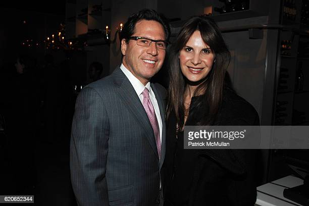 Dr Howard Sobel and Dr Gayle Sobel attend JOAN KRON'S 80th Birthday Party at Centorini's on January 9 2008 in New York City