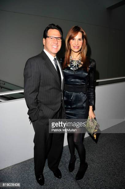 Dr Howard Sobel and Gayle Sobel attend SOLVING KIDS' CANCER Spring Celebration at Powerhouse at Museum of Natural History on May 12th 2010 in New...