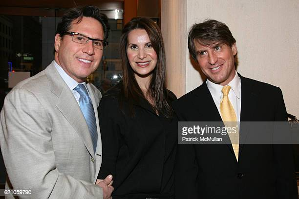 Dr Howard Sobel Gayle Sobel and Dr Steven Butensky attend TOD's celebrates Melanie Charlton Fascitelli Shop Your Closet at Tod's on May 14 2008 in...
