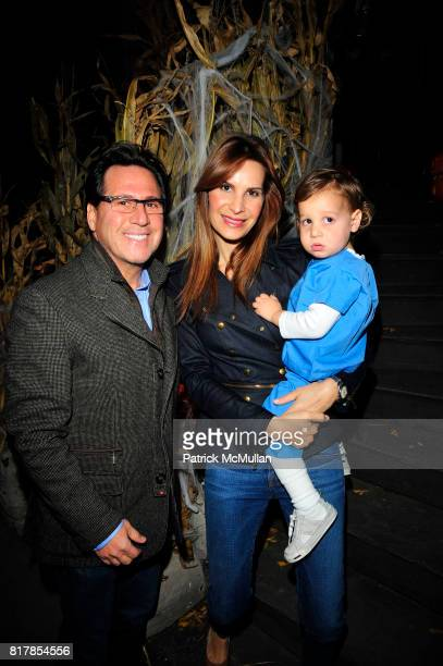 Dr Howard Sobel Gayle Sobel and Jake Sobel attend R COURI HAY hosts a Vampire Halloween Party at R Couri Hay Residence on October 31 2010 in New York...