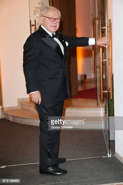 Dr Hubert Burda during the 80th birthday party of Roland Berger at Cuvillies Theatre on November 25 2017 in Munich Germany
