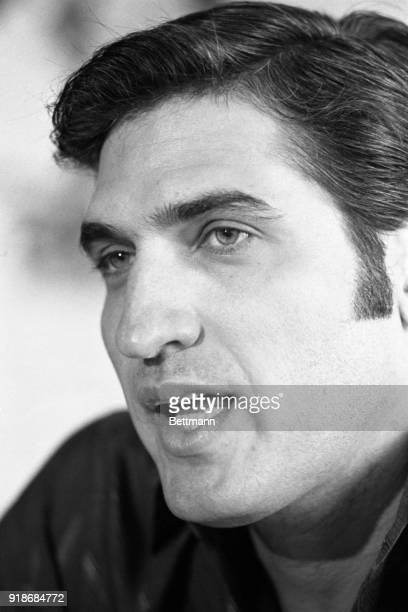 Dr Hugo Spadafora former Deputy Health Minister of Panama who led a volunteer brigade against the Somoza government in 1979 tells a news conference...