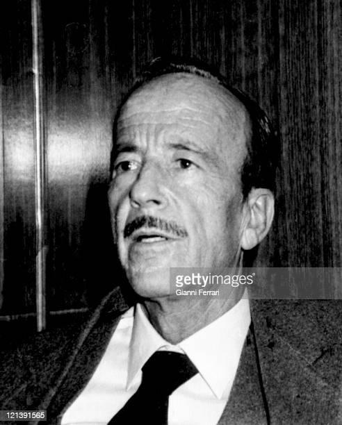 Dr Iglesias Puga, father of Julio Iglesias Madrid, Spain, .