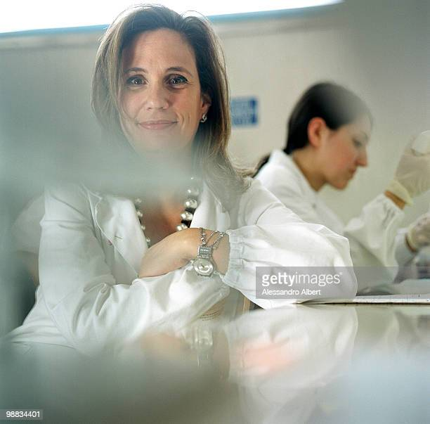 Dr Ilaria Capua head of Virology Department at Istituto Zooprofilattico Sperimentale delle Venezie poses for a portrait session in OIE/FAO for the...
