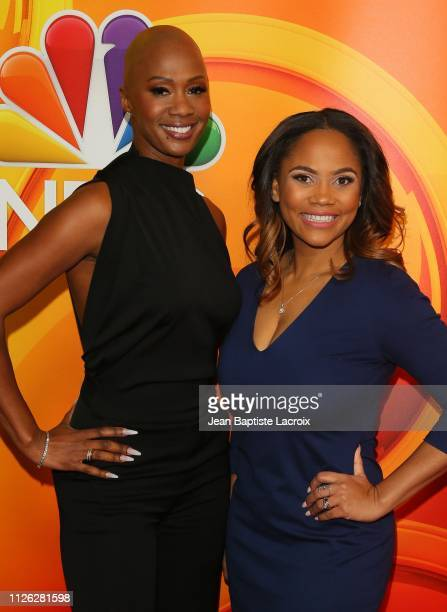 Dr Imani Walker and Shanique Drummond attend NBC's Los Angeles MidSeason Press Junket on February 20 2019 in Los Angeles California