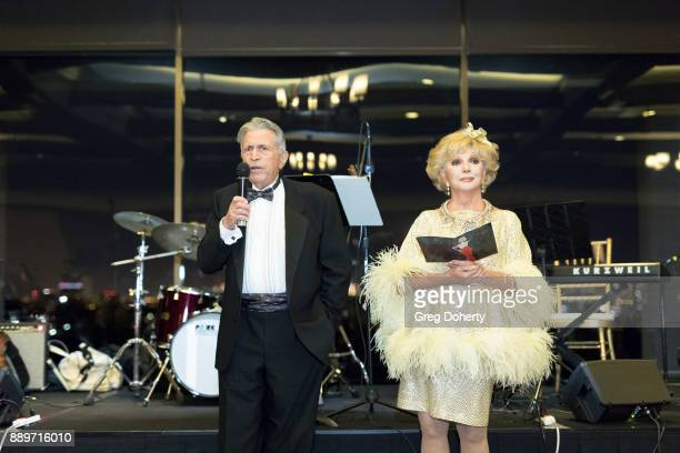 Dr Irwin Lehrhoff and Ruta Lee attend The Thalians Hollywood for Mental Health Holiday Party 2017 at the Bel Air Country Club on December 09 2017 in...