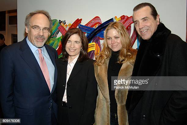 Dr Irwin Redlener Karen Redlener Gianna Ranaudo and Chazz Palminteri attend The CHILDREN'S HEALTH FUND Art of Helping Kids Party at Edun Fine Art on...