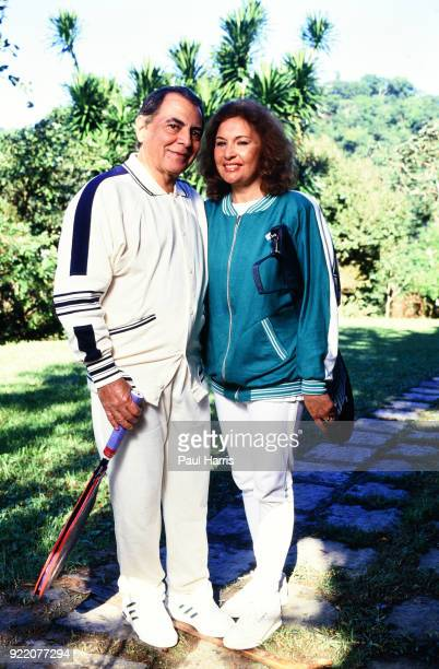Dr Ivo Pitanguy with his wife Marilu Nascimento loved tennis and was also the most famous plastic surgeon in the World a pioneering Brazilian plastic...