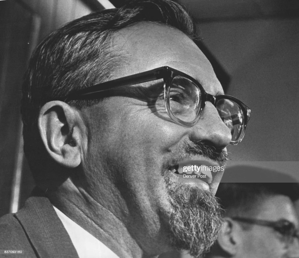 Dr. J. Allen Hynek, Chief UFO Investigator For U.S. Air Force He says it's highly likely that life exists on other planets in the universe. Credit: Denver Post