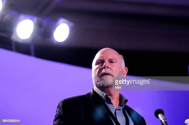 Dr J Craig Venter American biotechnologist biochemist geneticist and businessman photographed at ht leadership summit 2012